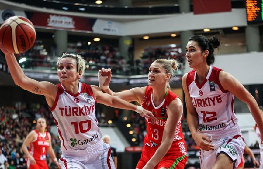 Женская сборная Беларуси по баскетболу обыграла Турцию и вышла на «Евробаскет»