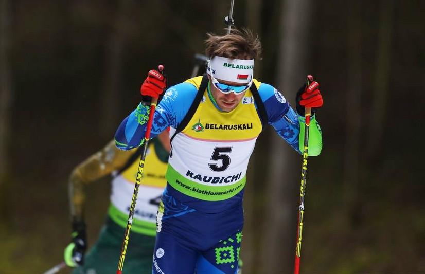 Белорус Сергей Бочарников выиграл гонку преследования на чемпионате Европы по биатлону в «Раубичах»