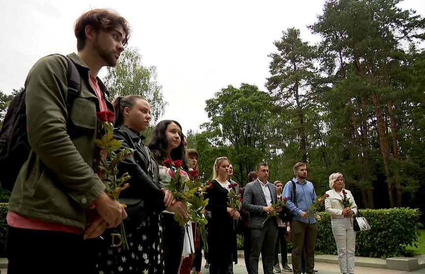Минская молодежь почтила память погибших в Великой Отечественной войне