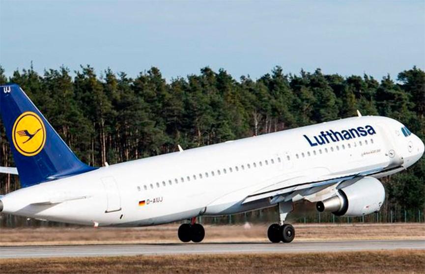 Авиакомпания Lufthansa начала тестировать пассажиров на коронавирус