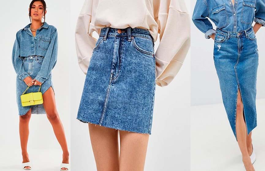 Джинсовая юбка: с чем носить самую модную вещь этого сезона