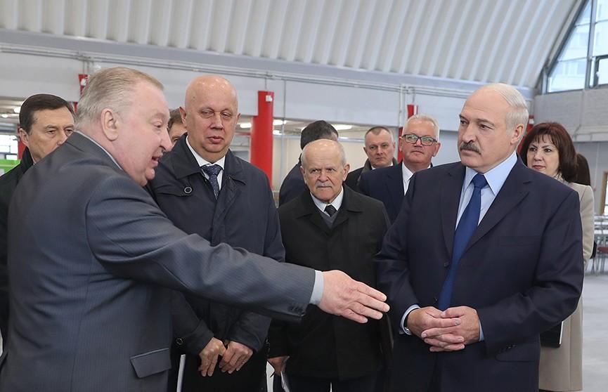 Александр Лукашенко посетил Студенческую деревню, где разместятся спортсмены и гости II Европейских игр