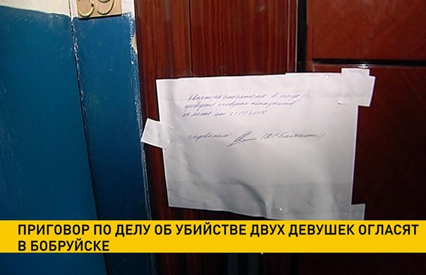 Приговор по делу об убийстве двух девушек огласят в Бобруйске