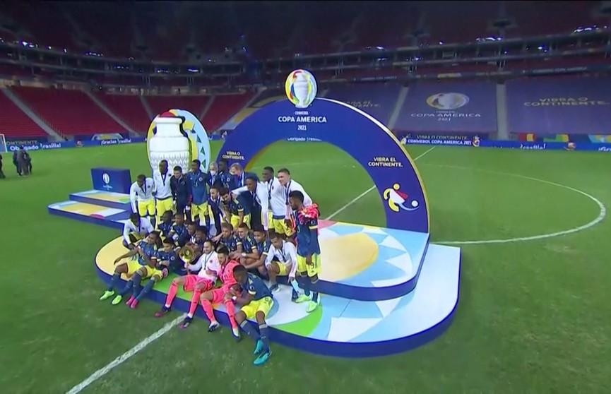 Футболисты сборной Колумбии стали призерами Кубка Америки