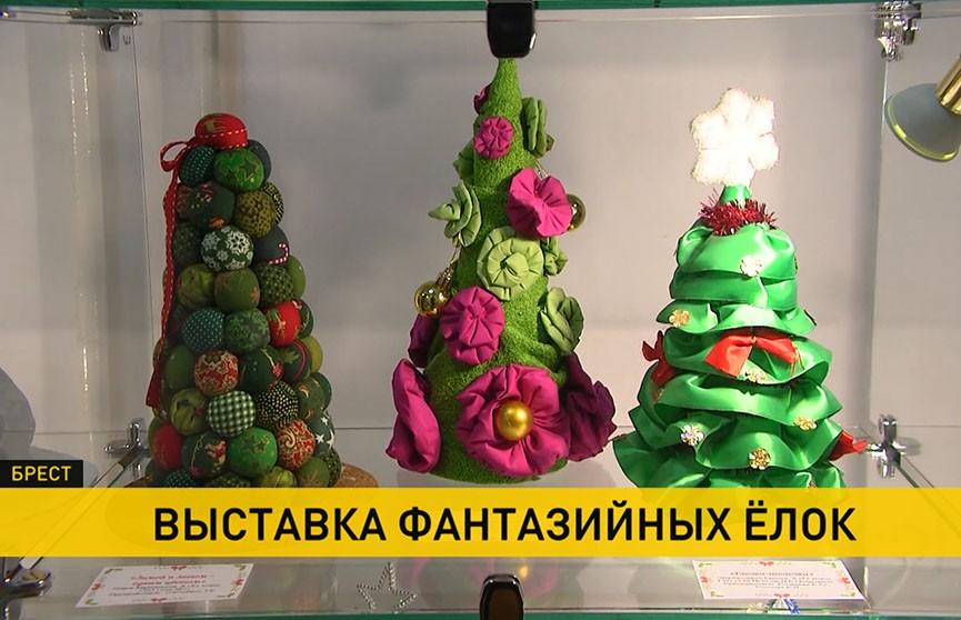 Выставка фантазийных ёлок открылась в Бресте