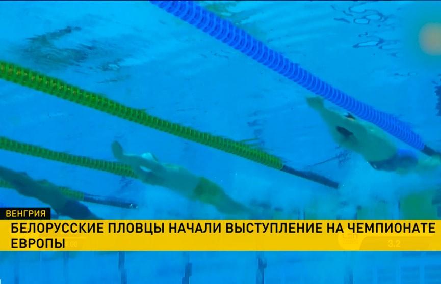 Белорусские пловцы начали выступление на чемпионате Европы