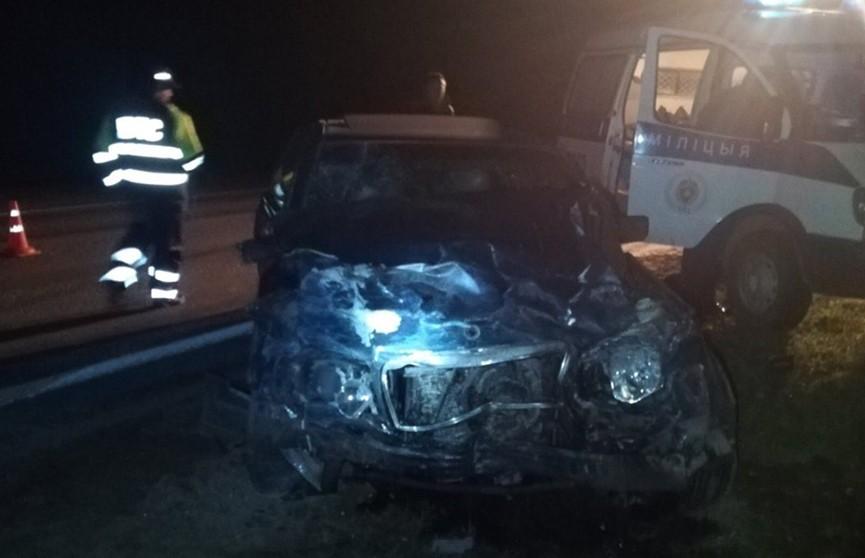 ДТП в Витебском районе: столкнулись «Мерседес» и «Рено», погиб человек