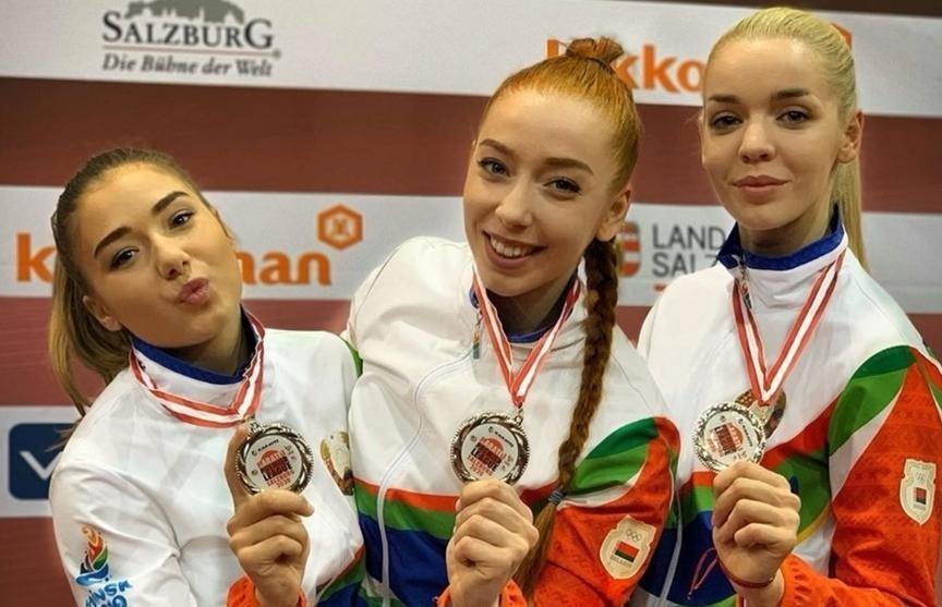 Белорусские каратистки стали вторыми на престижном турнире в Австрии