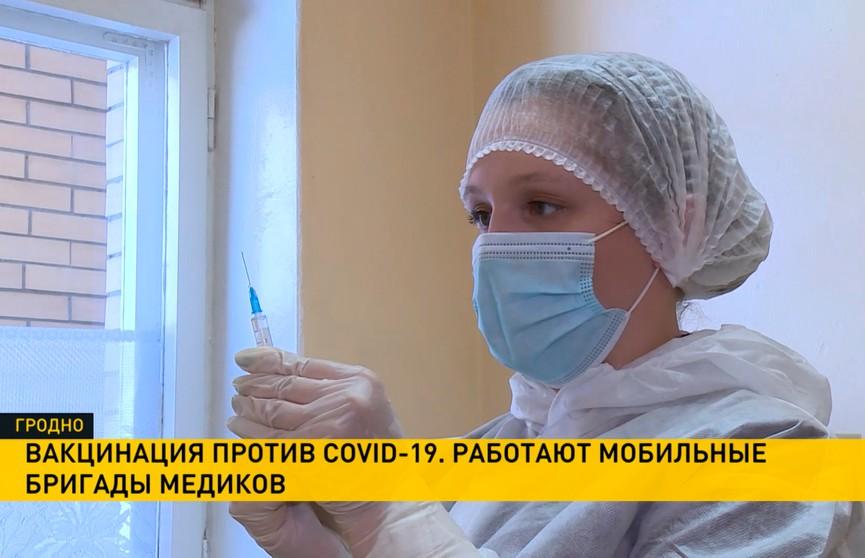 Вакцинация от COVID-19 в регионах Беларуси стала доступнее: привиться можно по пути в магазин