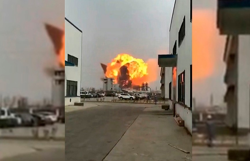 На химзаводе в Китае прогремел взрыв: пострадали шесть человек