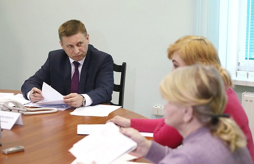 Помощник Президента – инспектор по Гродненской области Иван Лавринович провел прием граждан в Лиде