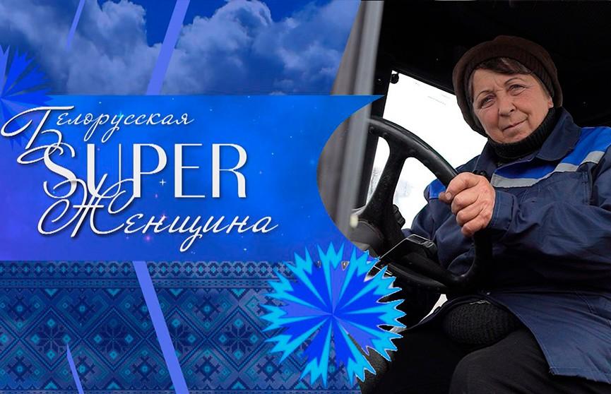 Женщина-тракторист Татьяна Захожая. Проект «Белорусская SUPER-женщина»