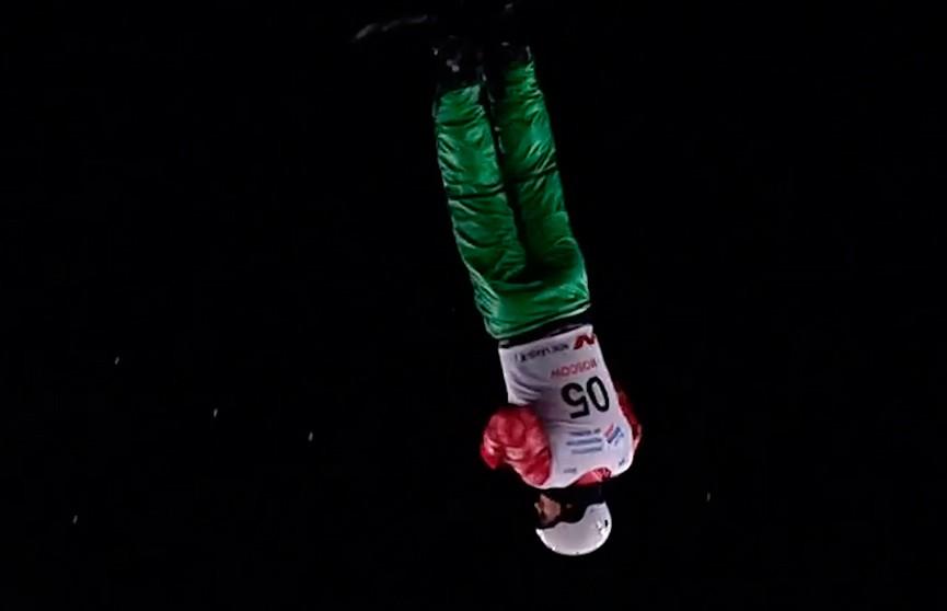 Антон Кушнир и Александра Романовская пробились в финал чемпионата мира по фристайлу