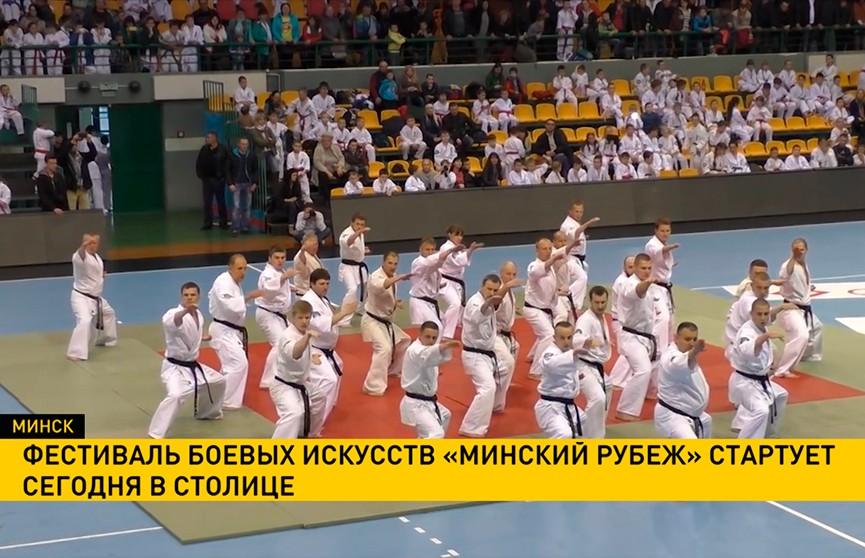 Фестиваль боевых искусств «Минский рубеж» стартует в «Чижовка-Арене»