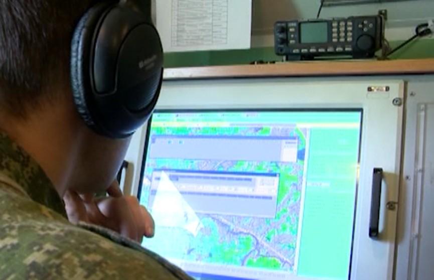 Белорусские специалисты радиоэлектронной борьбы провели учение