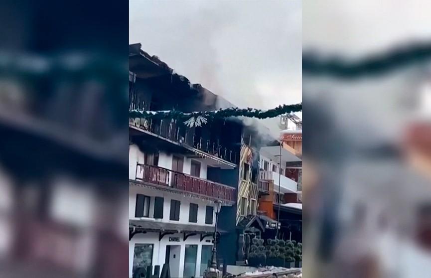 Пожар на горнолыжном курорте Куршавель унёс две жизни