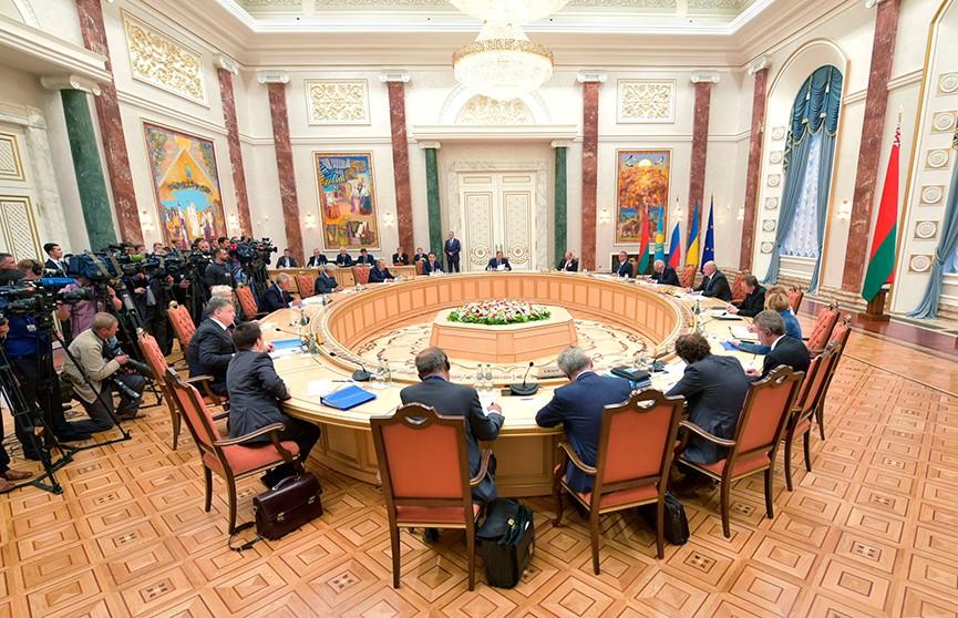 Первое в новом году заседание Трёхсторонней контактной группы по Украине состоялось в Минске