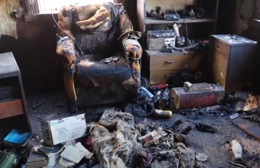И умерли в один день: пожар в Лиде на улице Калинина