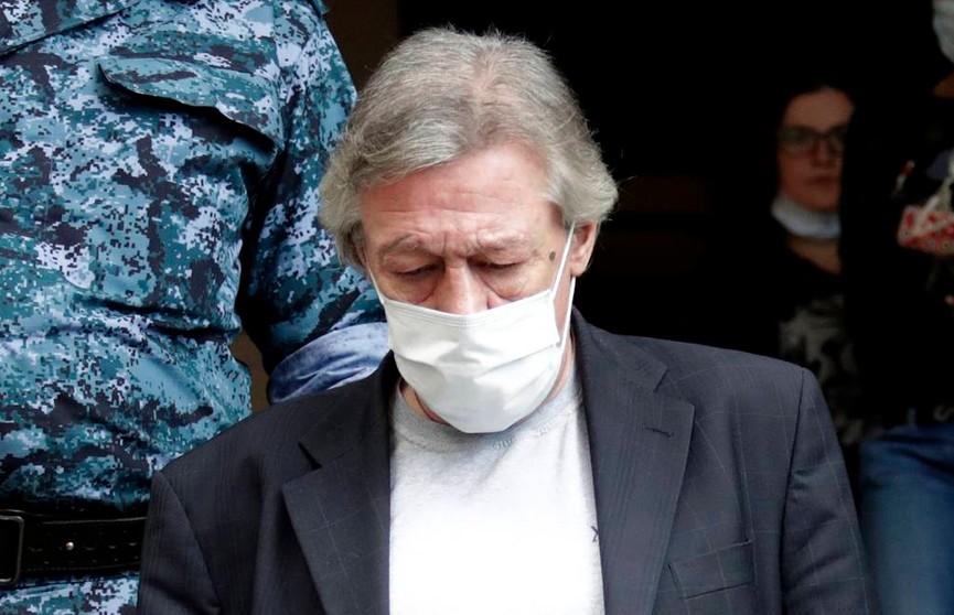 Ефремов признал свою вину в ДТП