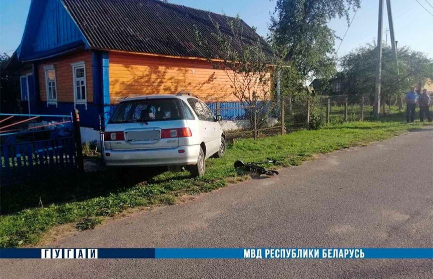 Легковушка сбила ребенка на самокате в Кореличском районе