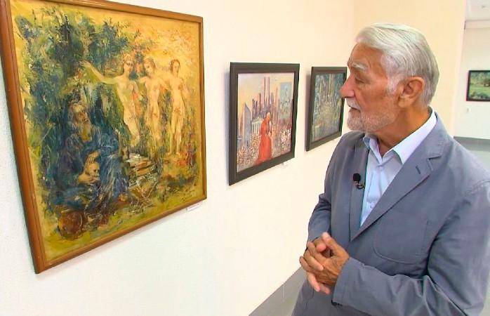 80-летний юбилей отмечает художник Дот Абдусаматов: в Бресте открылась выставка его работ