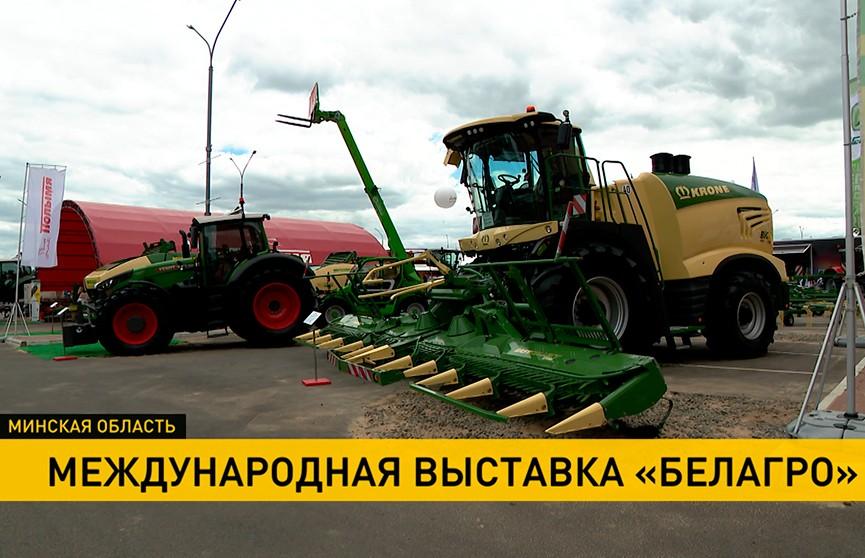 Сотни компаний из 16 стран мира представили свою продукцию на 31-й международной выставке «Белагро»