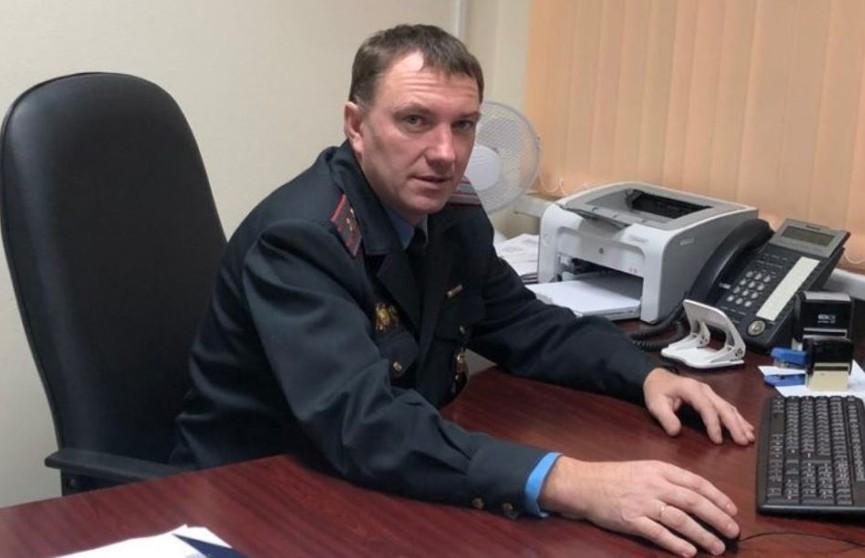 Белорусский милиционер получил письмо с благодарностью из Англии