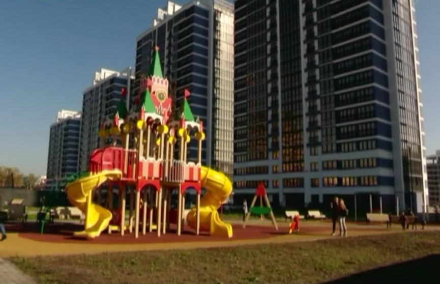 Многофункциональный комплекс «Минск Мир»: сдана пятая высотка «Марина»