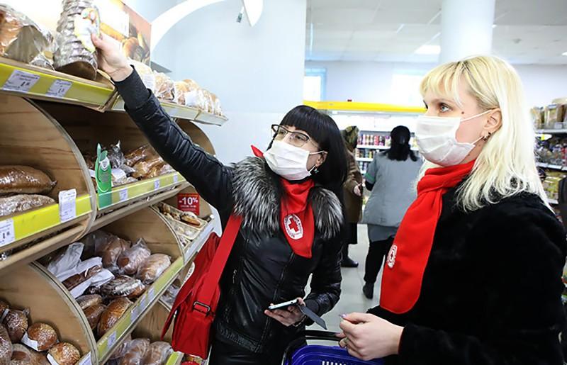 Более 600 заявок поступило от пенсионеров Гродненской области на доставку продуктов на дом