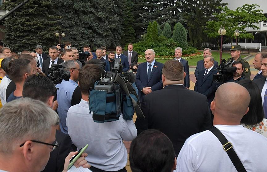 Александр Лукашенко: «9 августа все решится». Подробности рабочей поездки Президента в Брест