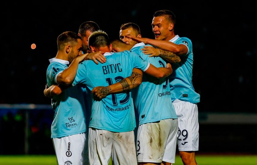 Чемпионат Беларуси по футболу: брестское «Динамо» разгромило «Неман» и вернулось на первое место