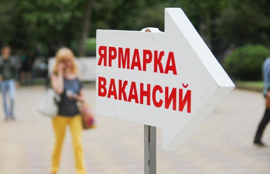 Ярмарка вакансий пройдёт в Минске 12 июля с 10 утра до полудня