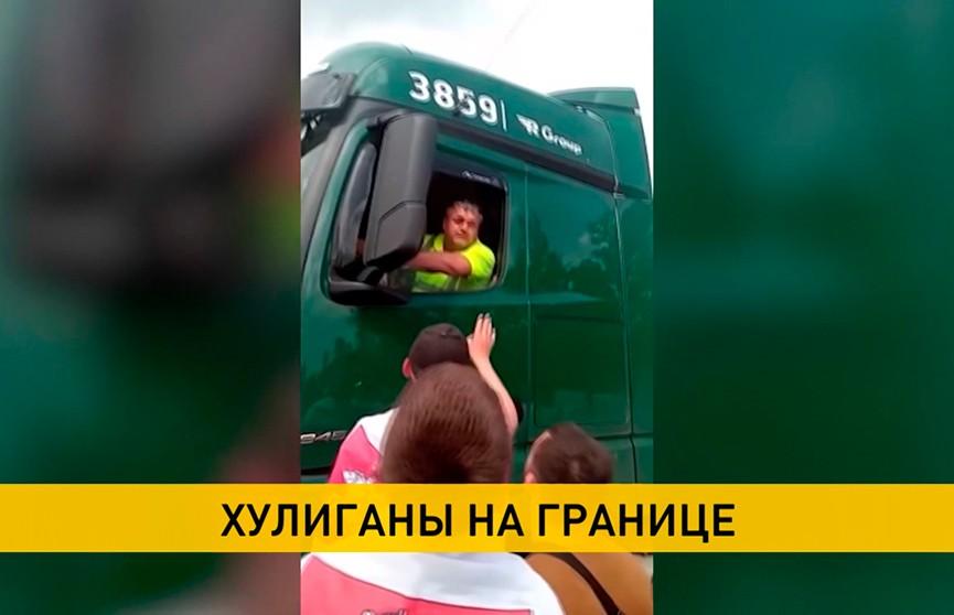 Оппозиционеры устроили блокировки дорог на границах Беларуси и стран ЕС