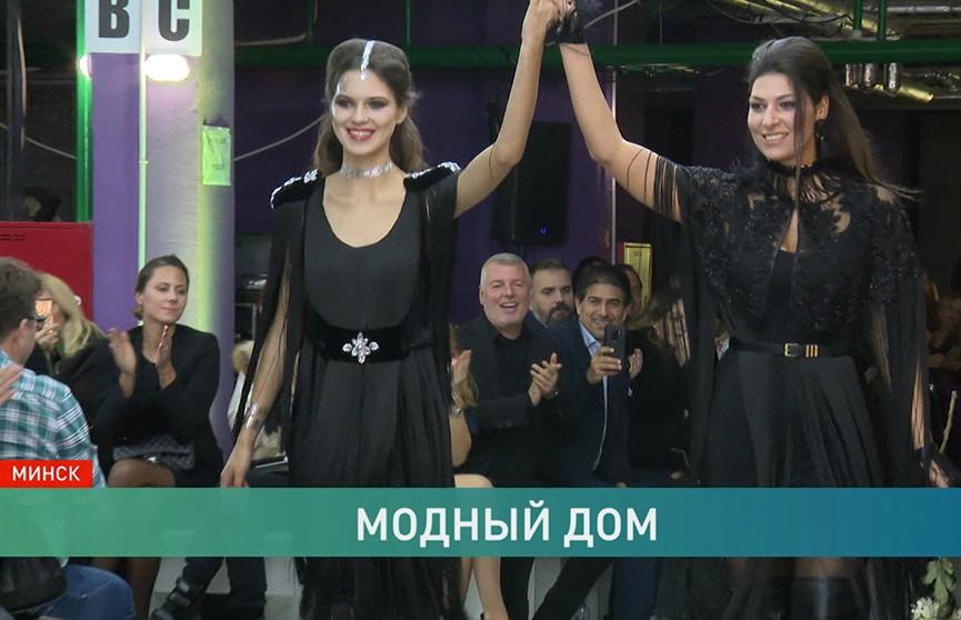 Показы Belarus Fashion Week прошли в интерьерах будущего торгового центра в доме «Микеланджело»