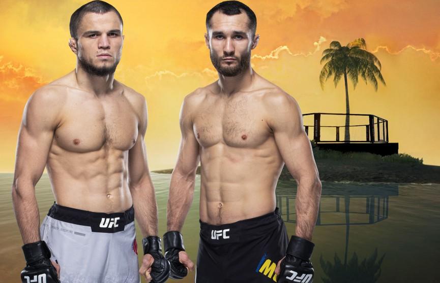 Нурмагомедов победил Морозова удушающим приемом на UFC on ESPN 20