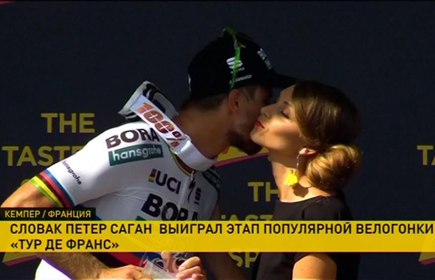 Петер Саган выиграл 5-й этап велогонки «Тур де Франс»