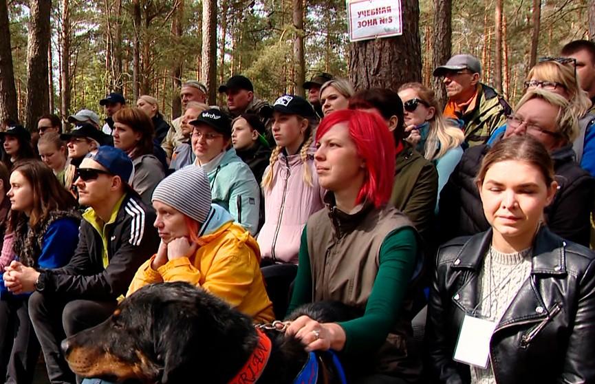 Учения добровольных спасательных отрядов стартовали под Минском
