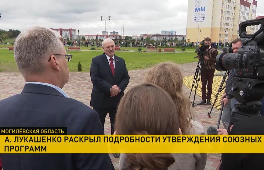 Встреча с Путиным, ситуация в Афганистане и прошедший день рождения: о чем журналисты спрашивали Лукашенко?