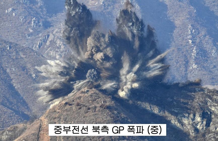 Северная Корея взорвала 10 своих постов охраны на границе с Южной Кореей