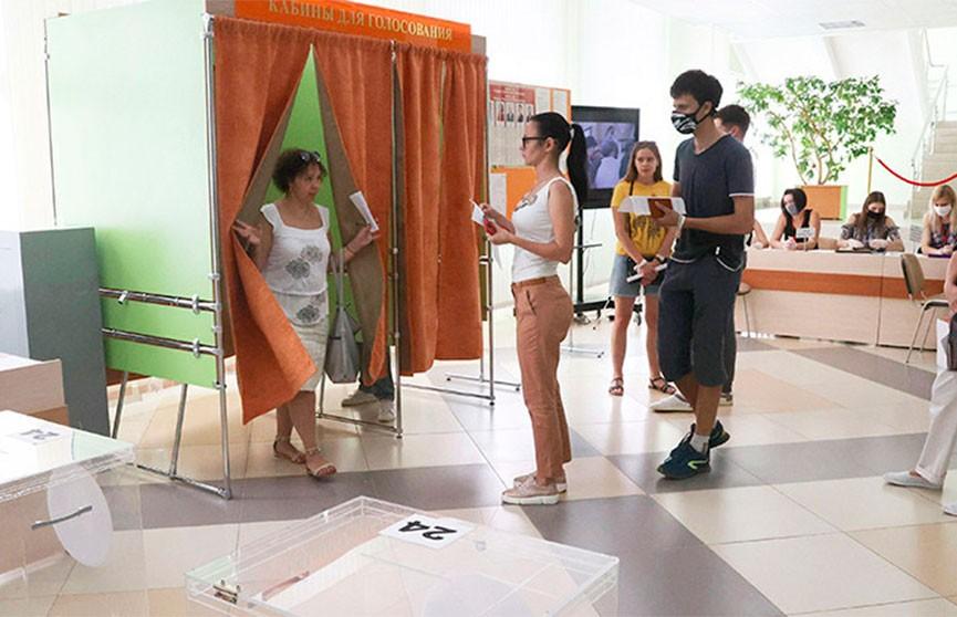 ЦИК: явка избирателей по состоянию на 14:00 составила 65,19%