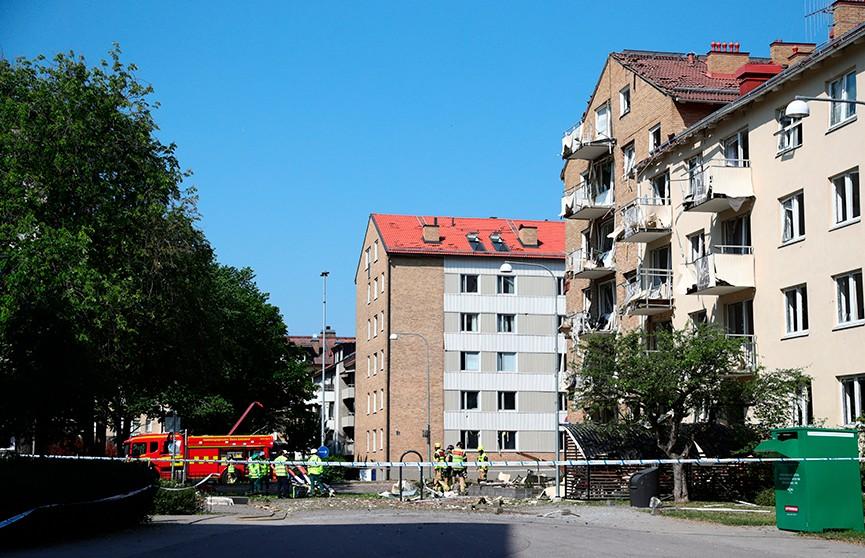 Бомба могла стать причиной взрыва в центре шведского Линчёпинга