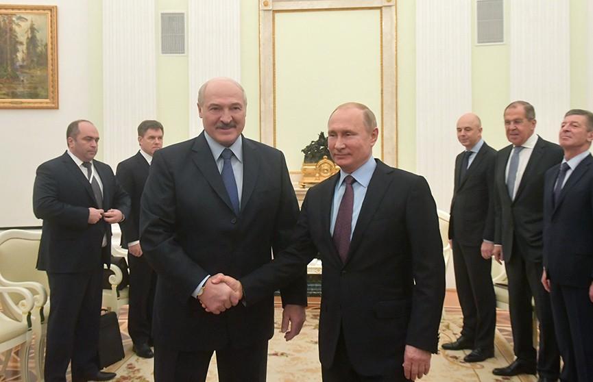Александр Лукашенко и Владимир Путин провели переговоры в Москве: подробности встречи президентов
