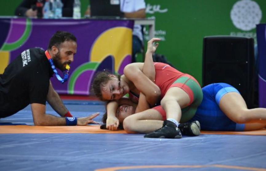 Вторую золотую медаль завоевала сборная Беларуси на юношеском фестивале в Баку