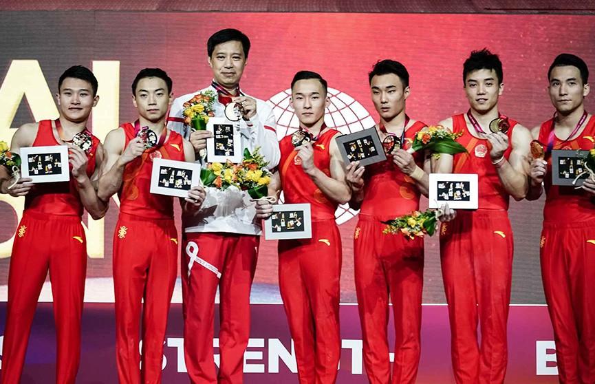 Первый комплект наград разыгран на чемпионате мира по спортивной гимнастике