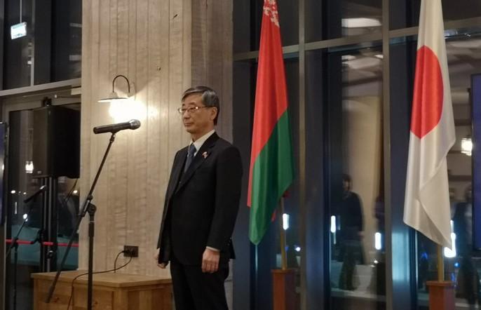 Япония намерена усилить сотрудничество с Беларусью