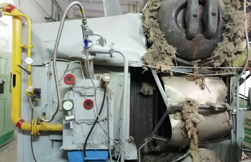 На предприятии в Гомеле разорвался газовый котел