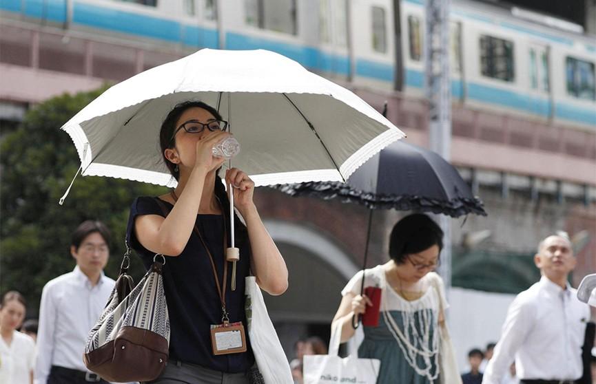 Сильная жара в Японии погубила 11 человек