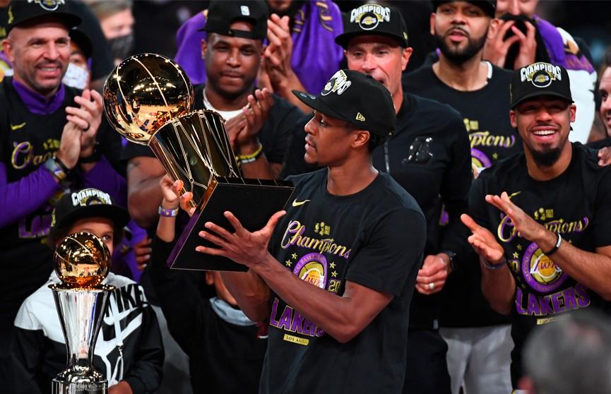 «Лос-Анджелес Лейкерс» выиграл чемпионат НБА
