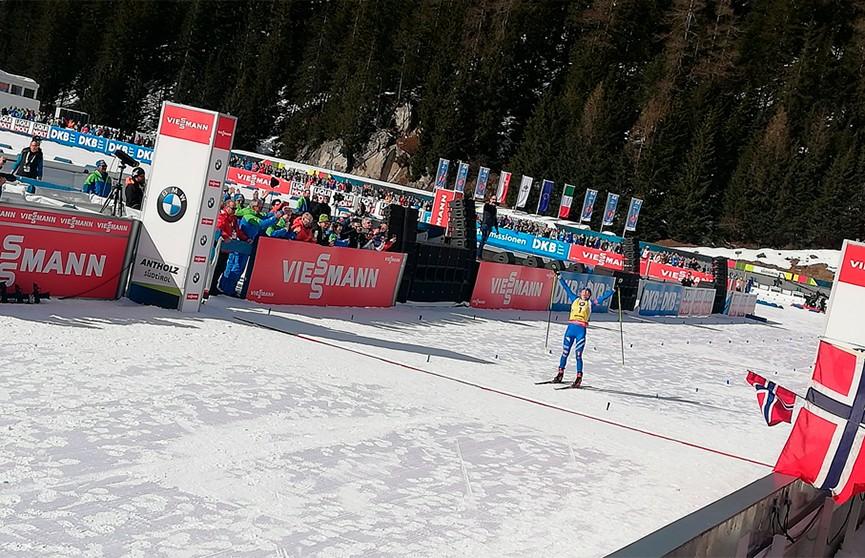 Итальянка Доротея Вирер выиграла гонку преследования на этапе Кубка мира по биатлону