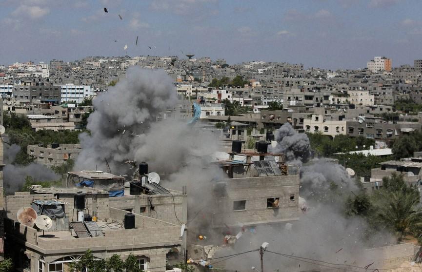 Мощный взрыв прогремел в лагере палестинских беженцев в секторе Газа